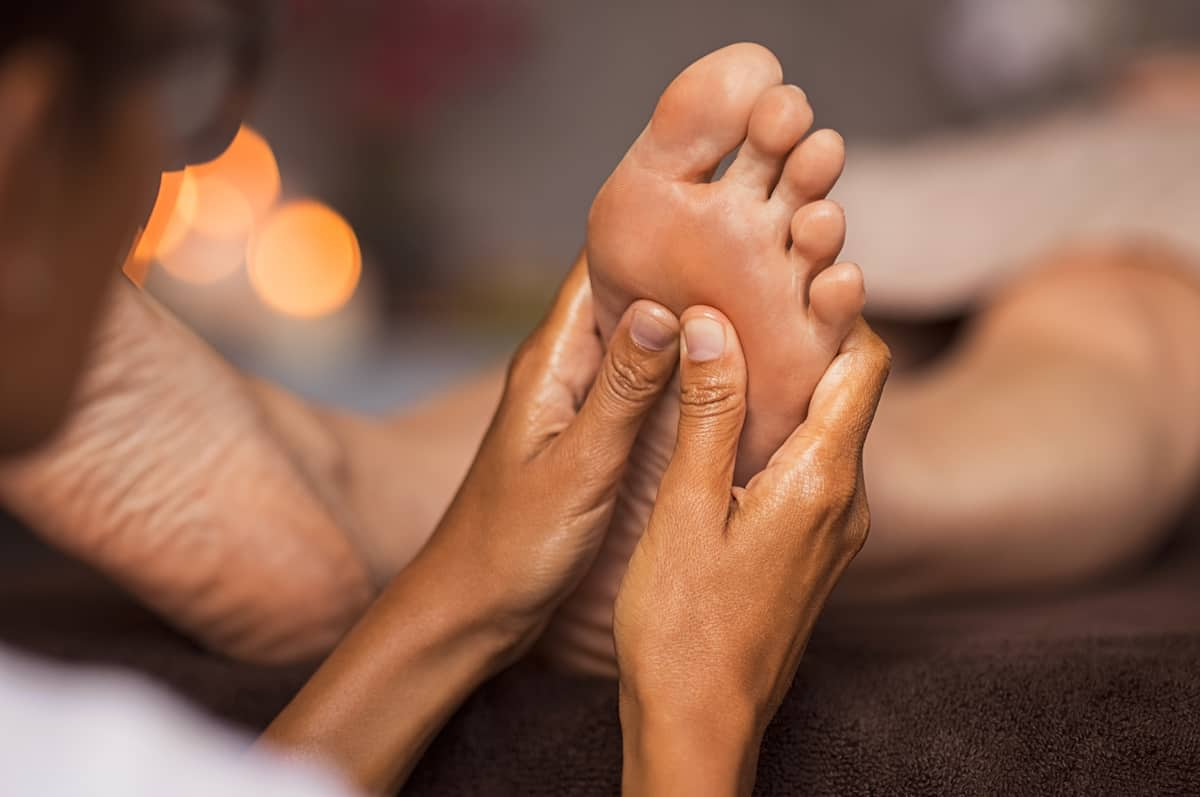 Reflexology in Angus